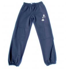 PJ451 Fleece Jog Pant -Double Knee & Logo