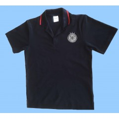 CAV1007 - Black Short Sleeve Polo
