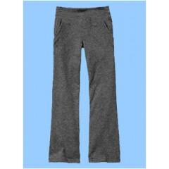 SAV8018 -Girl's Grey  Stretch Yoga Pant