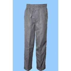CAV9020 - Unisex Grey Woven Rugby Style Pull on Pant