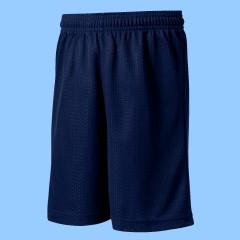 CW1014  Navy Mesh Gym  Short