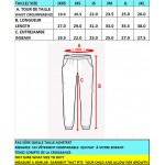 PJ480 Unisex Navy Fleece pant  with pockets -OPTIONAL WEAR