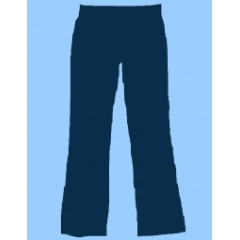 CW802 Girls Navy Spandex Pant -WHILE QUANTITIES LAST