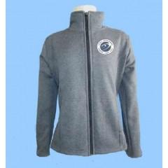 DOR1005 - Charcoal Grey Fleece Tapered Cardigan