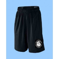 FEL1014 - Black Athletic Mesh Short