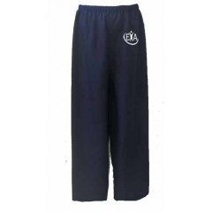 EA314 NAVY BLUE JERSEY PULL ON GYM PANT