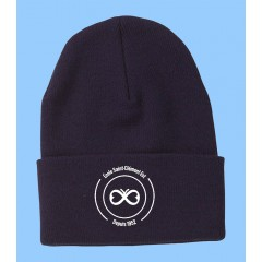 ECLE011 -TUQUE WITH EMBROIDERED SCHOOL LOGO -ONE SIZE