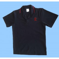 FEL1007 - Black Short Sleeve Polo