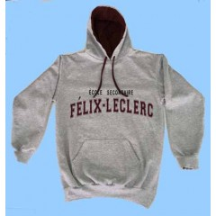 FEL1114 - Kangaroo Grey Mix fleece sweatshirt