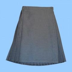 MMM496 Grey Wraparound skirt