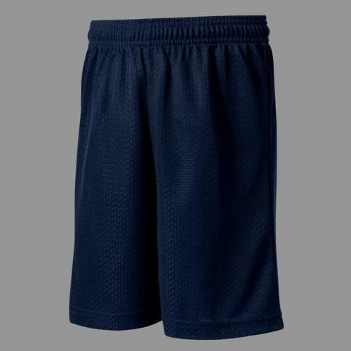 HSB1014  Navy Athletic Mesh Short