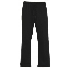 KAL9030 - Unisex Black Rugby Style Stretch Pant