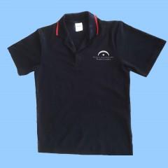 LAP1007 - Black Short Sleeve Polo