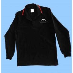 LAP1009 - Black Long Sleeve Polo