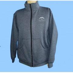LAP1010 - Charcoal Grey Fleece Cardigan