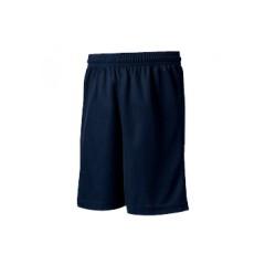 LAS1014 Navy Mesh Athletic Short