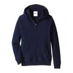 LAS213 Fleece Zip Hoodie with Kangaroo Pockets