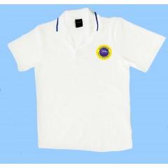 OE1006F - Urban  Style white  polo -Short Sleeves