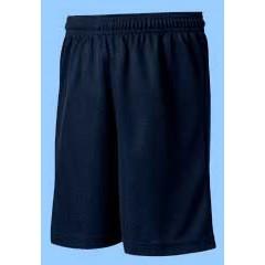 OE1014  Navy Athletic Mesh Short