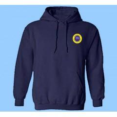 OE1114 - Navy Kangaroo Fleece Hoodie