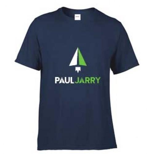 PJ4050 Navy Short Sleeve Sleeve T-Shirt with School logo