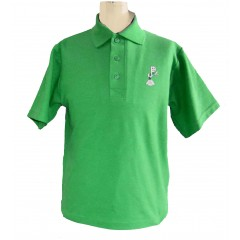 PJ407 Green Short Sleeve Polo