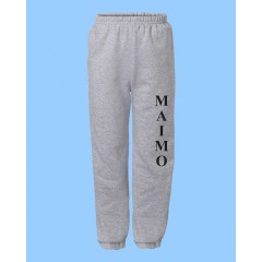 MMM455 - Grey Jogging pants with pockets