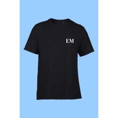 MMM1013- Black  Performance Gym T-shirt