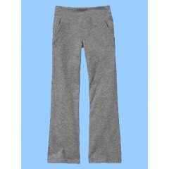 SAV8018 -Girl's Grey  Stretch Yoga Pant