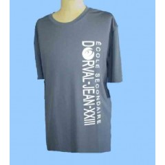 DOR1013 - Performance  Charcoal crew neck t-shirt FOR GYM