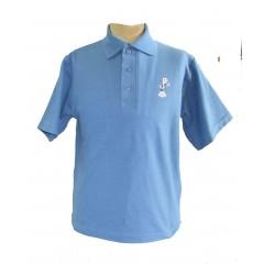 PJ408 Blue Short Sleeve Polo