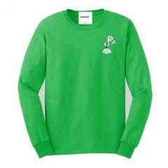 PJ409 Green Long Sleeve T-Shirt